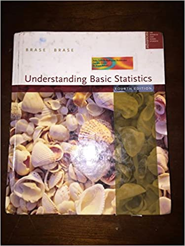 Amazon understanding basic statistics 9780618632282 charles understanding basic statistics 4th edition fandeluxe Gallery
