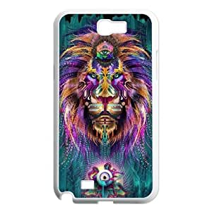Majestic Lion Samsung Galaxy Note 2 Cases, Vety {White}