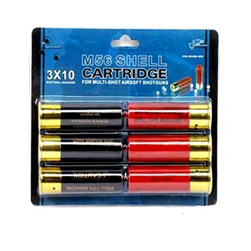 Double Shotgun (Airsoft Shotgun Shells 6-pack for Double Eagle M56 Series Spring Shotguns)