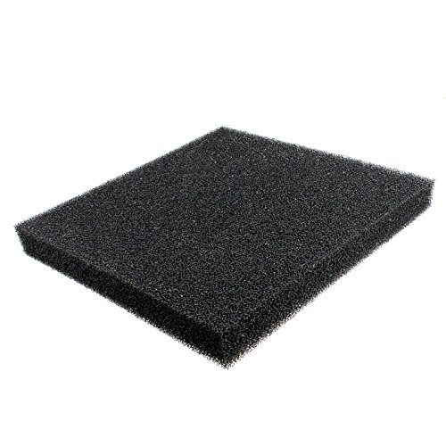 Black Pond Foam (AQUANEAT Bio Sponge Filter Media Pad Cut-to-fit Foam Up to 23