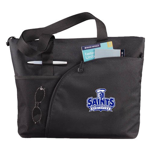 OLLU Excel Black Sport Utility Tote 'Our Lady of the Lake University Athletics - Offical Logo' by CollegeFanGear
