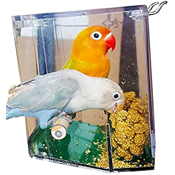 Other Bird Supplies 10 Cuttlefish Universal Clip Perch Holder Only Millet Budgie Canary Cockatiel