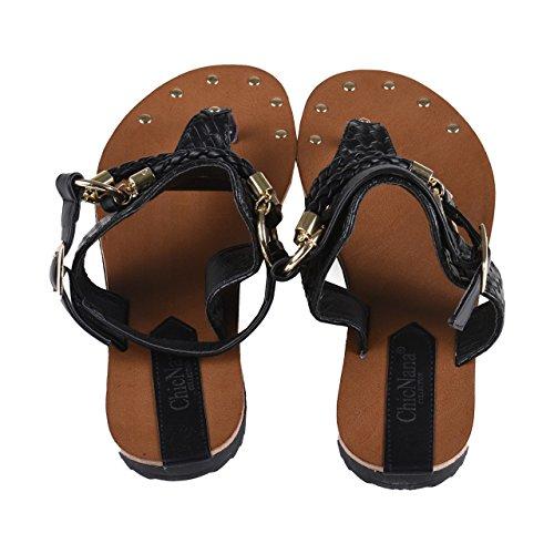 Sandales séparateurs denvoyer des Chic Nana Collection avec accessoires