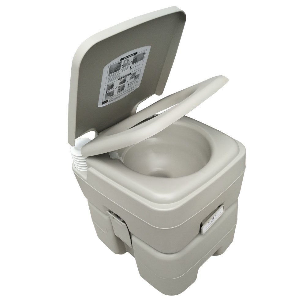 Best toilet on the market reviews - New Invention T Type Three Directional Flush Portable Toilet
