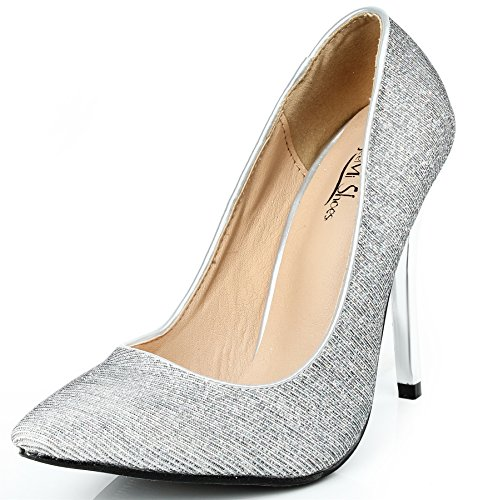 Haut L Ageemi Chaussures Femmes Shoes Pointue Talon txYBYFrq