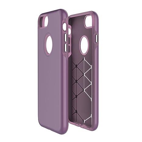Carcasa para iPhone 8Plus/7Plus, carcasa de goma resistente ...
