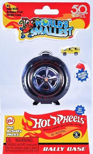 Worlds Smallest Hot Wheels Rally Case