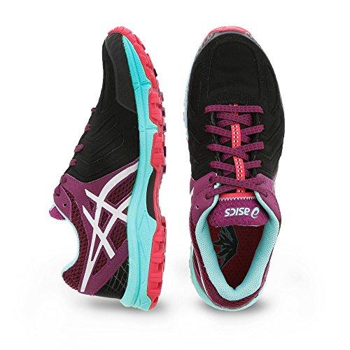 tx Asics pool Plum 5 Gel G silver Trail Chaussures fuji Femme Attack Blue Running Z8wgxaqZ