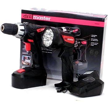 Amazon.com: Drill Master 18 Volt Cordless 3/8 In. Drill ...