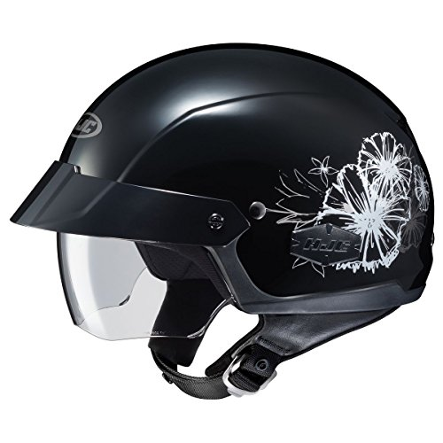 Ladies Cruiser Motorcycle Half Helmet