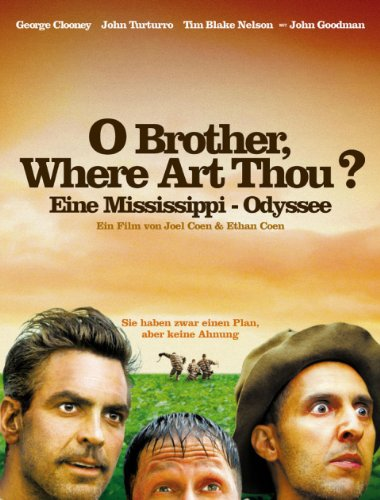 Filmcover O Brother, Where Art Thou? - Eine Mississippi-Odyssee