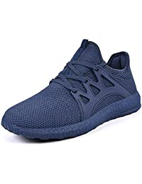 Mxson ZOCAVIA Mens Ultra Lightweight Breathable Mesh Street Sport Gym Running Walking Shoes Casual Sneakers