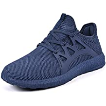 Mxson Men's Ultra Lightweight Breathable Mesh Street Sport Walking Shoes Casual Sneakers