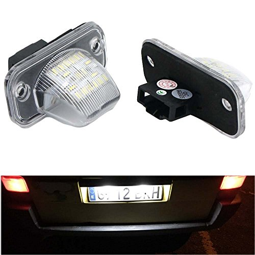 Used, Polarlander 2Pcs 18SMD LED License Plate Number Light for sale  Delivered anywhere in USA