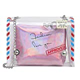 Purses Totes,Purses Small,Fashion Lady Personality Transparent Jelly Chain Shoulder Bag Messenger Bag