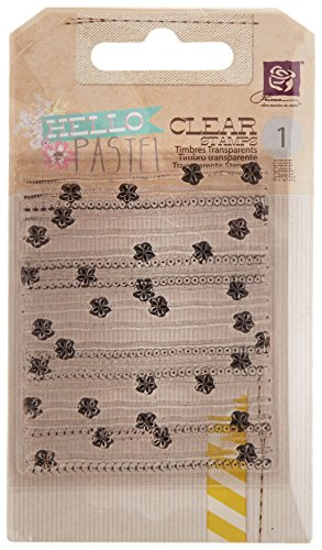 (Prima Marketing Hello Pastel Clear Stamps 2.5