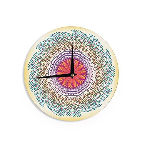KESS InHouse Famenxt - Mandala wall clock