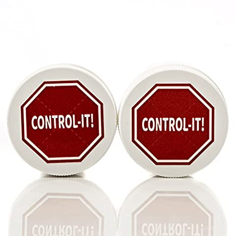 Control-It Helps Stop Nail Biting and Thumb Sucking 2 Pack. All-Natural. Safe for Children … (Nail Biting For Kids)