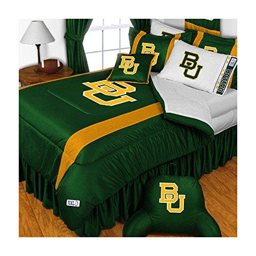 Baylor Bears Queen Comforter and Pillowcase Set College Team Logo - Pillow Baylor Bears