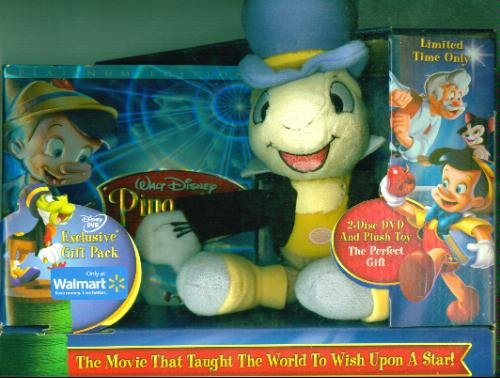 (Pinocchio (Two-Disc 70th Anniversary Platinum Edition With Plush Toy Of Jiminy Cricket))