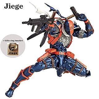 """Jiege Deathstroke Revoltech Action Figure ABS & PVC Painted Action Figure - 6.7"""" H (17cm)"""