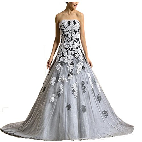 Fair Lady Appliques Wedding Dresses product image