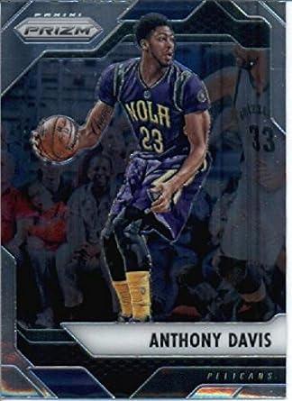 2016-17 Panini Prizm Basketball #191 Anthony Davis New Orleans Pelicans