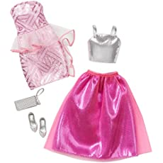 Barbie Fashion 2 Pack Fancy - Pink & Silver