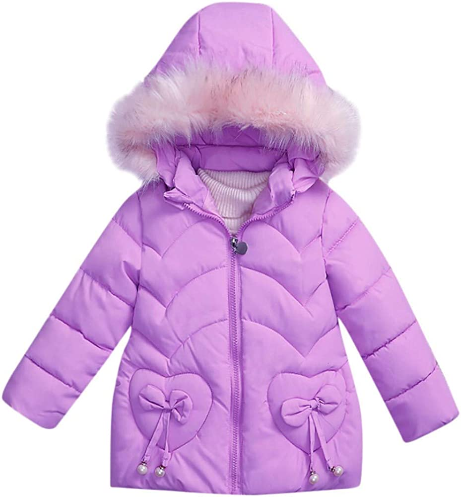 Toddler Padded Parka Coat,Leegor Kids Coat Boys Girls Thick Winter Jacket Clothes Outerwear