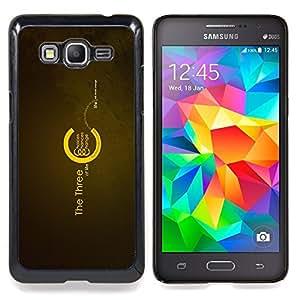 """Qstar Arte & diseño plástico duro Fundas Cover Cubre Hard Case Cover para Samsung Galaxy Grand Prime G530H / DS (Los tres de la Vida"""")"""