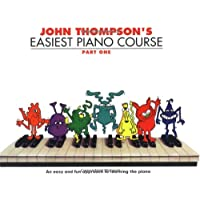 John Thompson's Easiest Piano Course: Part 1 - Revised Edition [Lingua inglese]