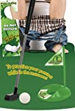 TOTAL VISION Potty Golfing - The Golfer's Gag Gift
