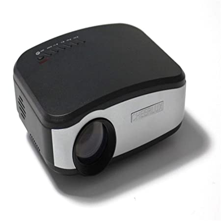 WZHESS Proyector LED, 1200 lúmenes Soporte 800X480 HD Proyector de ...