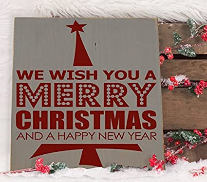 adonis554dan we wish you a merry christmas wooden subway art sign 12 x 12 - Subway Christmas Eve Hours