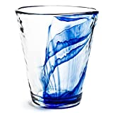 Bormioli Rocco Murano 14.875 oz. Drink Glasses, Long, Blue, Set of 12