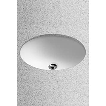 Toto LT577#01 15-Inch by 12-Inch Undercounter Lavatory Sink, Cotton