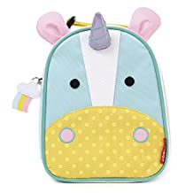 Skip Hop Zoo Lunchie Little Kids & Toddler Insulated Lunch Bag, Eureka Unicorn