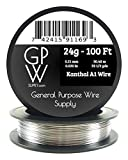 GPW Supply - Kanthal 24g 100 ft Electronic Reststance Wire