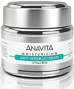 Anavita Moisturizing Anti Wrinkle Anti Aging Cream, 1.7 fl. oz.