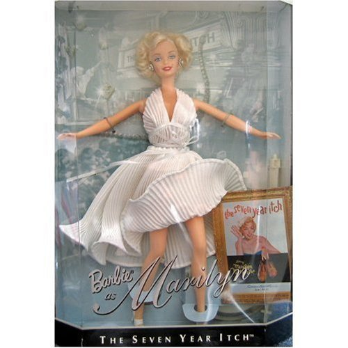 Barbie Collectibles 1997 Barbie collect Marilyn Monroe figure doll The Seven Year Itch parallel import goods