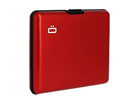 Ögon Smart Wallets -Big Stockholm Cartera Tarjetero - Protección RFID: Protege Tus Tarjetas de Robar - hasta 10 Tarjetas + Recetas + Notas - Aluminio ...