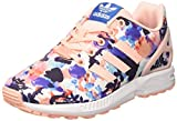 Adidas ZX Flux - BB2879 - Color Pink-White-Blue - Size: 4.5