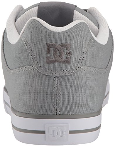 15 D D Skate Pure TX White Men Shoe Grey US Grey DC v8Hz7wx