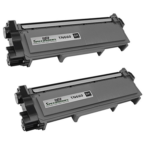 Speedy Inks - 2 Pack Compatible Brother TN630 TN660 TN-660 High Yield Black Toner Cartridge fort use in DCP-L2520DW, DCP-L2540DW, HL-L2300D, HL-L2320D, HL-L2340DW, HL-L2360DW, HL-L2380DW