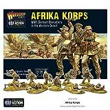 Bolt Action Afrika Korps German Grenadiers Western Desert 1:56 WWII Military Wargaming Plastic Model Kit