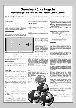 TORNEO-reglas snooker: Amazon.es: Deportes y aire libre