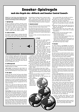 Turnier-Regeln Pool Billard 14//1-endlos