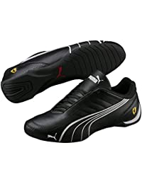 9fce3a62054e Mens Ferrari SF Future Cat Kart Driving Athletic Shoes in Black · PUMA