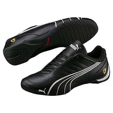 puma Mens Ferrari SF Future Cat Kart Driving Athletic Shoes In Black (8)