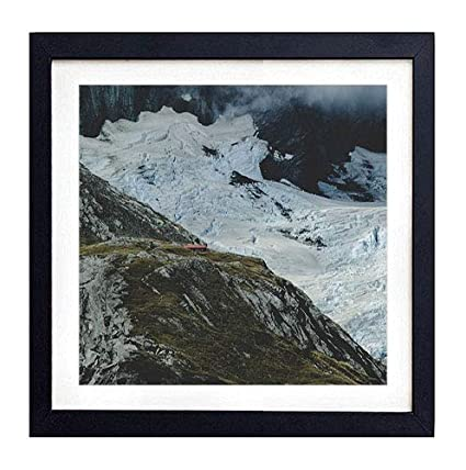 Amazon Com Glitzfas Prints Framed Wall Art Mountains New Zealand